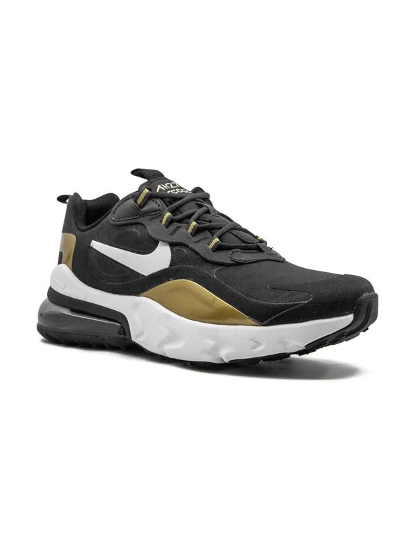 Nike Teen Air Max 270 React Sneakers In Black
