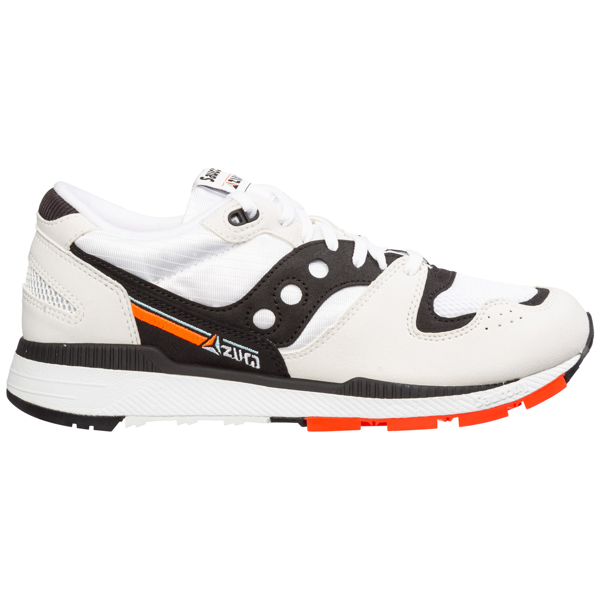 Saucony Men's Shoes Suede Trainers Sneakers Azura In White