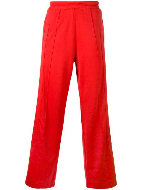 Givenchy Relaxed Jogging Trousers In Red