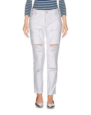 Glamorous Denim Pants In White