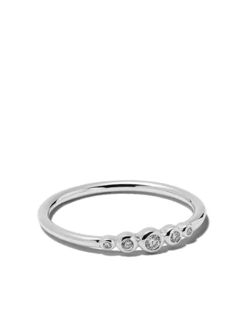 Astley Clarke Icon Nova Mini 14ct White-gold And Diamond Ring In White Gold
