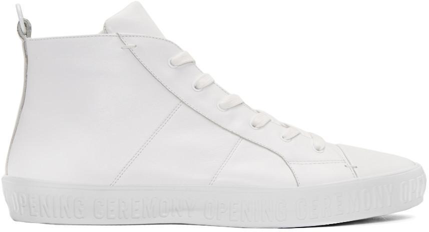 Howard High Top Sneakers White