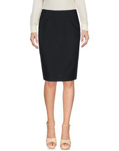 Cedric Charlier Knee Length Skirts In Black