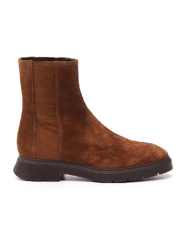 Stuart Weitzman Romy Boots In Brown