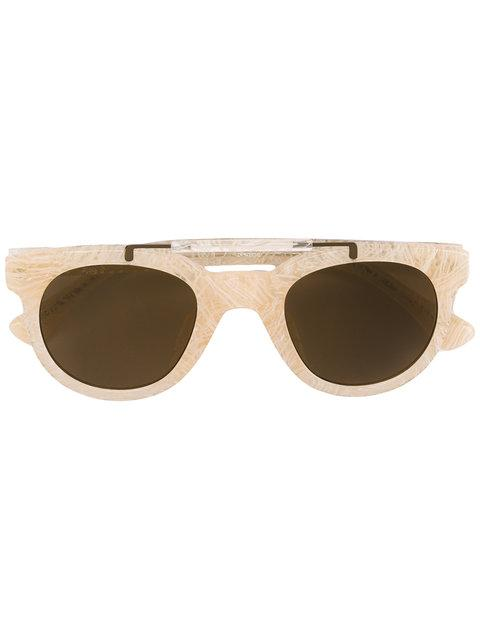 Linda Farrow Dries Van Noten By  Sunglasses