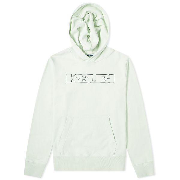 Ksubi Sign Of The Times Logo Hoodie In Green
