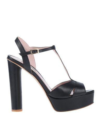 Gianni Marra Sandals In Black