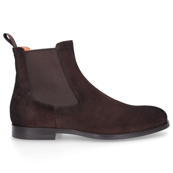 Santoni Men Ankle Boots 13414 In Brown
