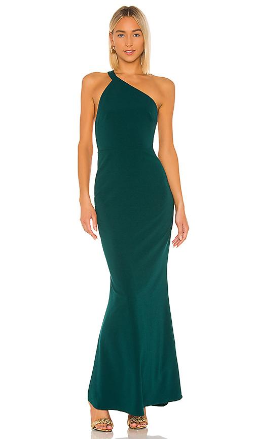 Lovers & Friends Jess Maxi Dress In Emerald Green