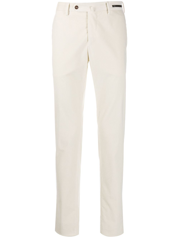 Pt01 Orient Heights Corduroy Chinos In White