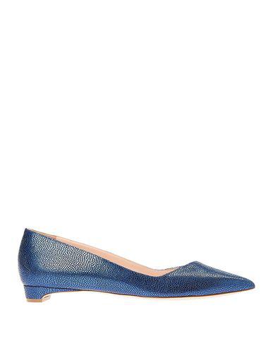 Rupert Sanderson Ballet Flats In Blue