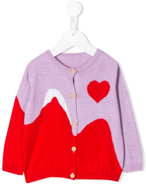Raspberry Plum Babies' Sunset Cardigan In Purple