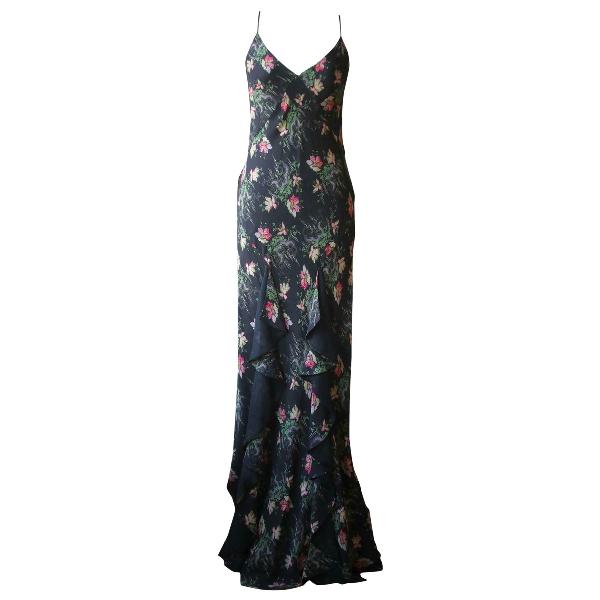 Vilshenko Black Silk Dress
