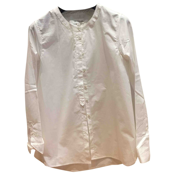 Pre-owned Chloé Stora White Cotton  Top