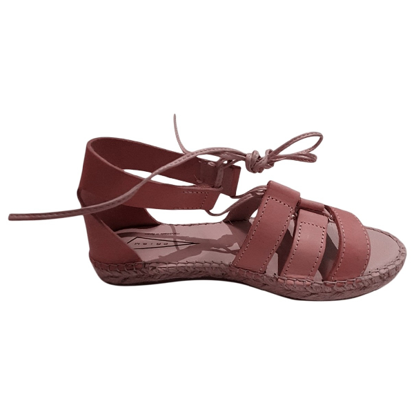 Prism Brown Leather Sandals
