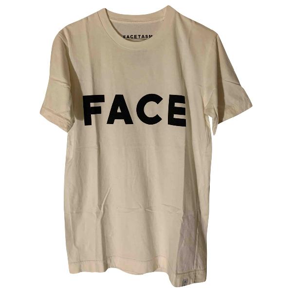 Facetasm White Cotton T-shirts