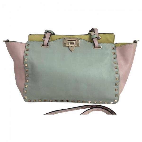 Valentino Garavani Rockstud Multicolour Leather Handbag