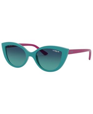 Vogue Eyewear Jr. Sunglasses, Vj2003 46 In Blue Gradient