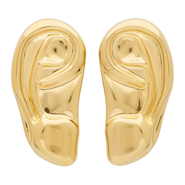 Gucci Gold Ear Brooch Set In 0707 Gold