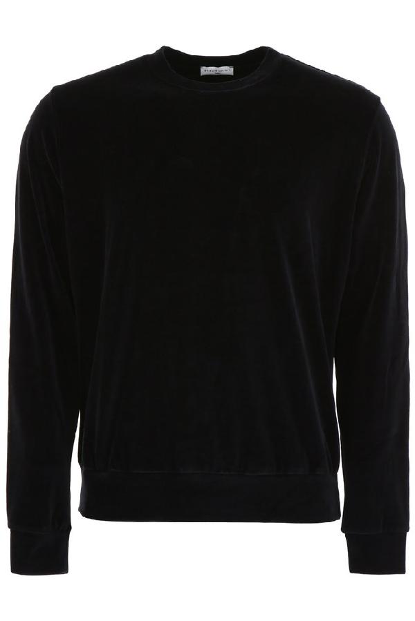 Ih Nom Uh Nit Back Logo Sweatshirt In Black