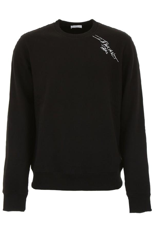 Ih Nom Uh Nit Logo Sweatshirt In Black