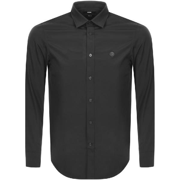 Diesel S Bill Slim Fit Shirt Black