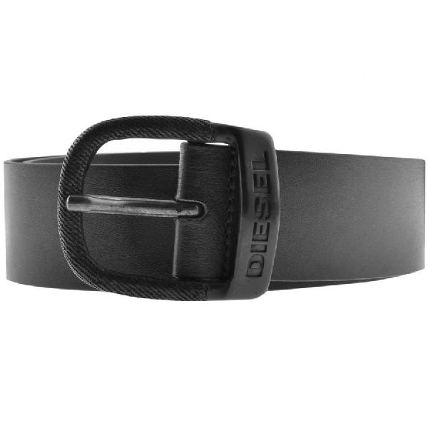 Diesel Bawre Belt Black