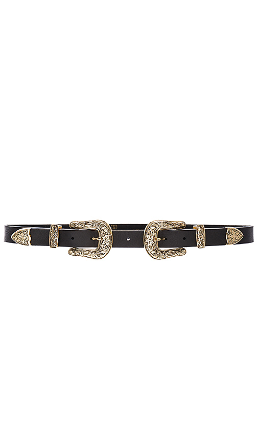 B Low The Belt Baby Bri Bri Hip Belt In Black Amp Gold