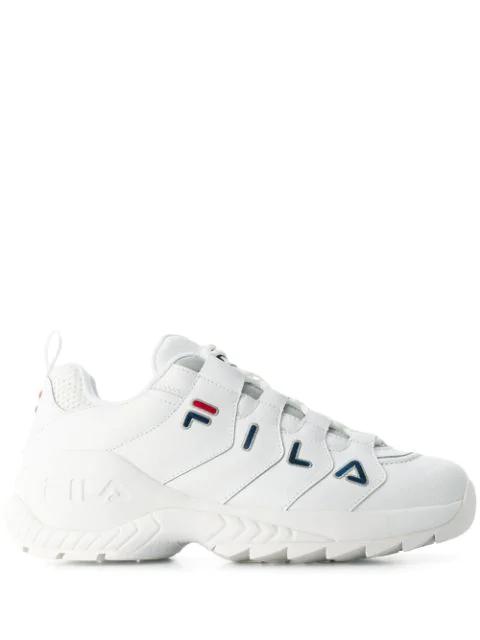 Fila Low Countdown Sneaker In White