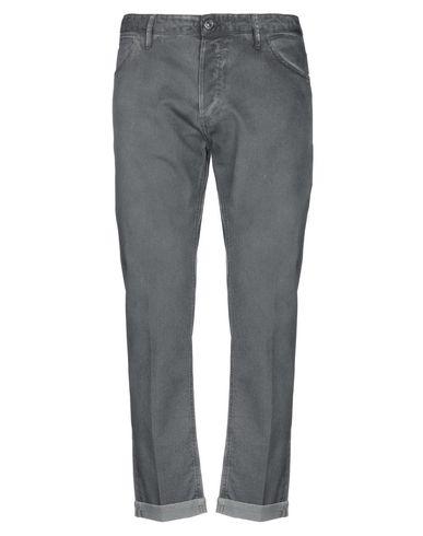 Pt05 Distressed Effect Denim Jeans In Grey In Black