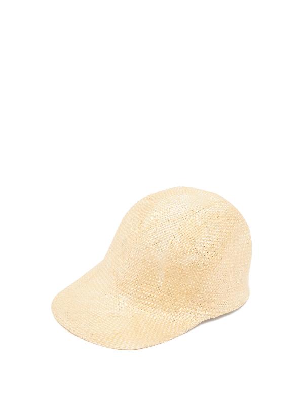Reinhard Plank Hats Enzo Woven Cap In White