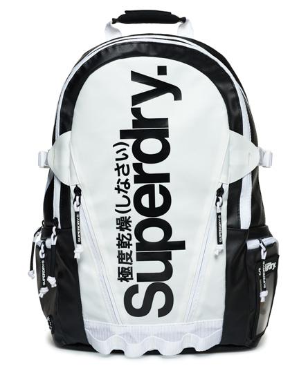 Superdry Mono Tarp Backpack In Black