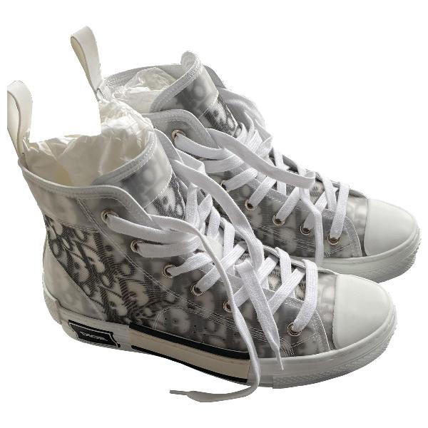 Dior B23 White Rubber Trainers
