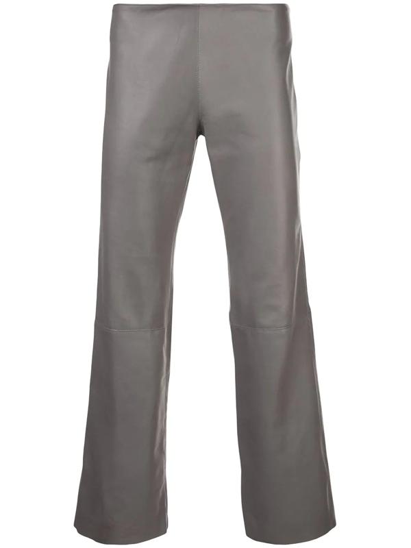 Ludovic De Saint Sernin Cropped Length Trousers In Grey