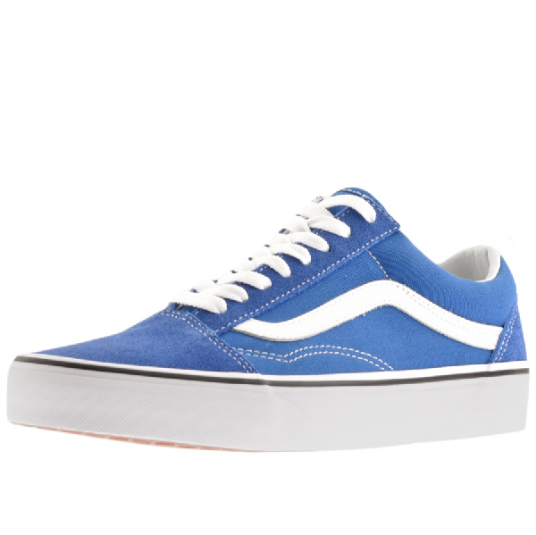 Vans Old Skool Canvas Trainers Blue