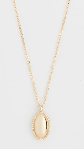 Jennie Kwon Designs 14k Oval Milli Necklace In Yellow Gold