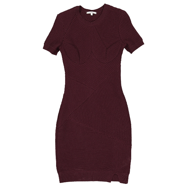 Carven Wool Dress