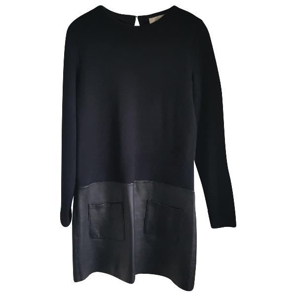 Vanessa Bruno Black Wool Dress