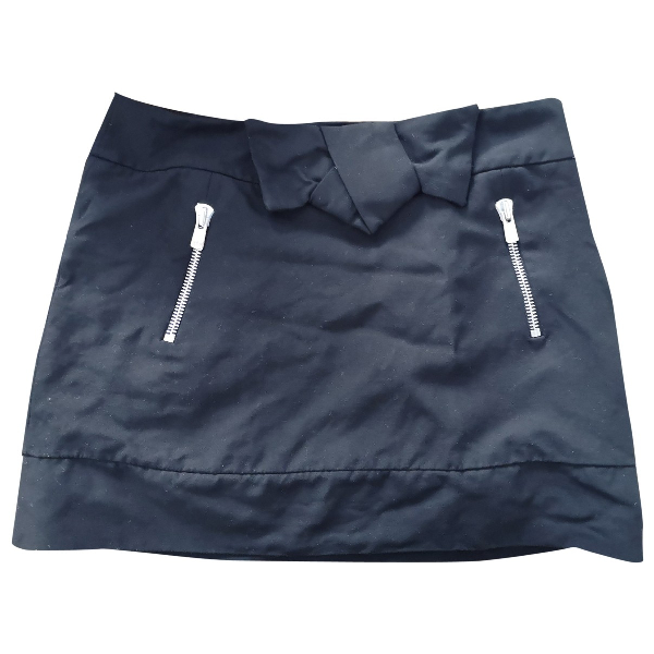 Claudie Pierlot Black Cotton Skirt