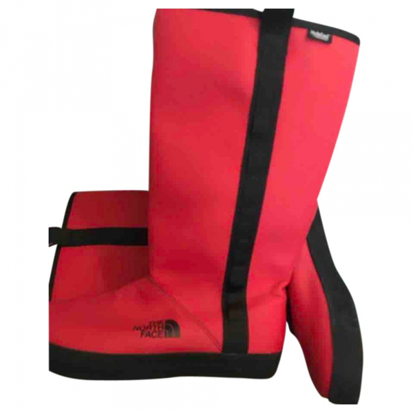 The North Face Red Rubber Boots