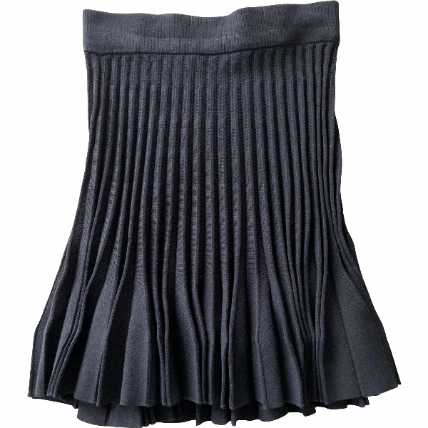 Claudie Pierlot Black Skirt