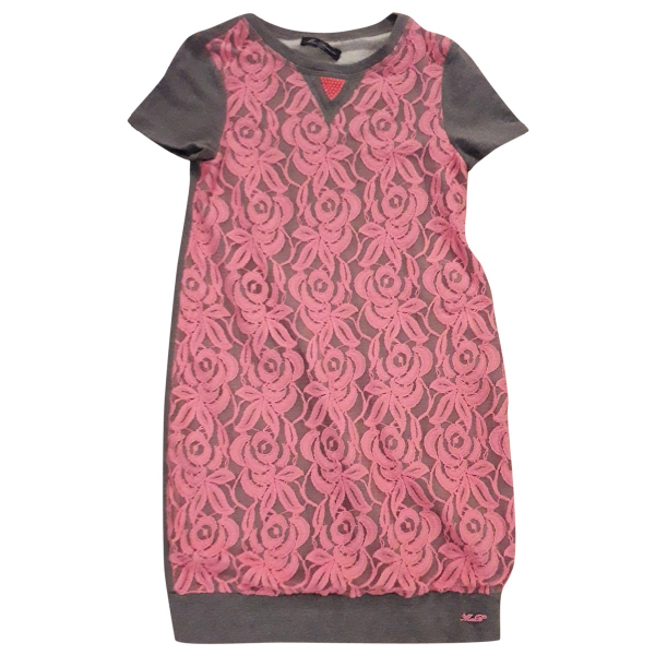 Blumarine Pink Cotton - Elasthane Dress