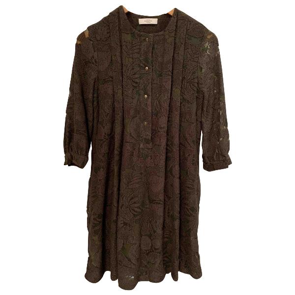 Roseanna Khaki Cotton Dress