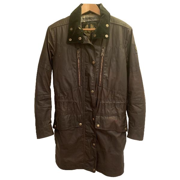 Belstaff Brown Cotton Coat