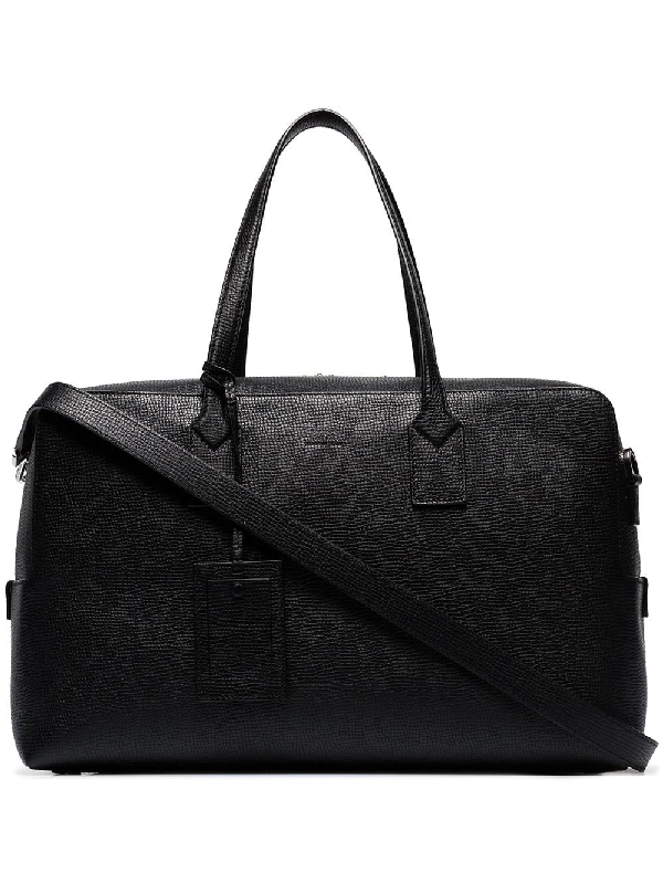 Hugo Boss Boss Black Gallery Leather Holdall Bag