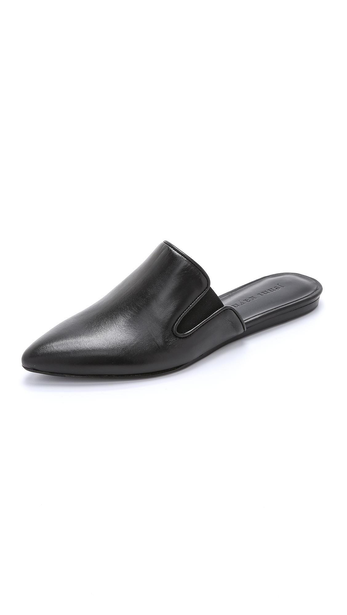 Jenni Kayne Mule Slides In Black