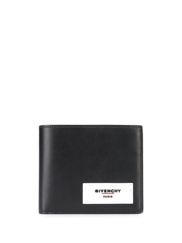 Givenchy Logo-detailed Leather Billfold Wallet In Black
