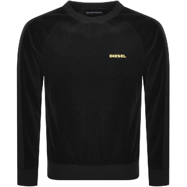 Diesel Max Sweatshirt Black