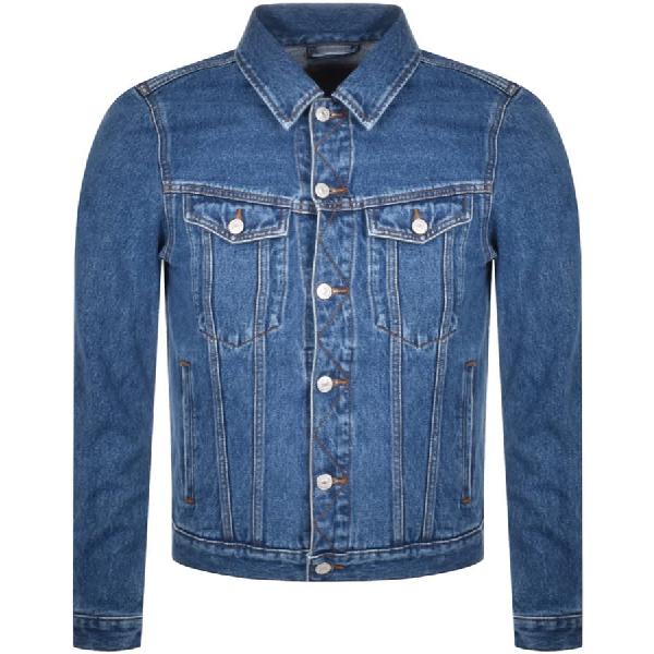 Diesel D Galy F Denim Jacket Blue