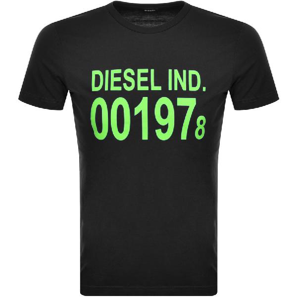 Diesel T Diego Short Sleeved T Shirt Black
